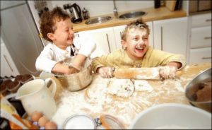 messy-kids-cooking-in-kitchen