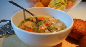 SC CHICKEN AND WILD RICE SOUP