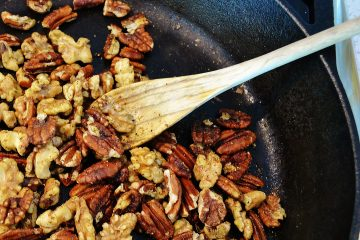 spiced pecans and walnuts I