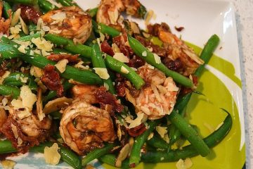 End-of-Summer Shrimp and Green Bean Salad