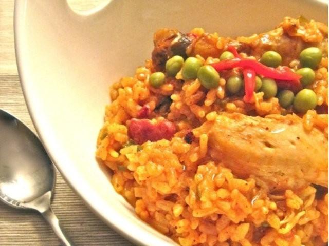 Slow Cooker Arroz Con Pollo