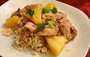 Slow Cooker Aloha Chicken