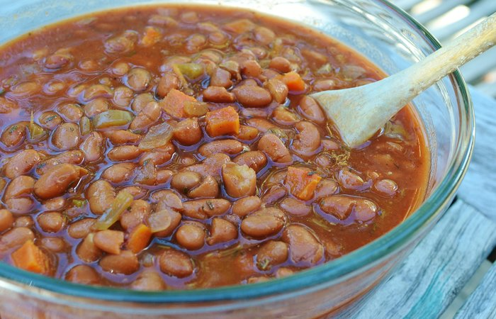Slow Cooker Drunken Beans (Frijoles Borrachos)