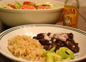 Cuban Black Beans and Rice