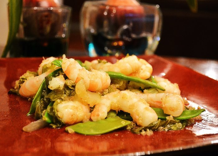 Slow Cooker Shrimp, Bok Choy and Quinoa