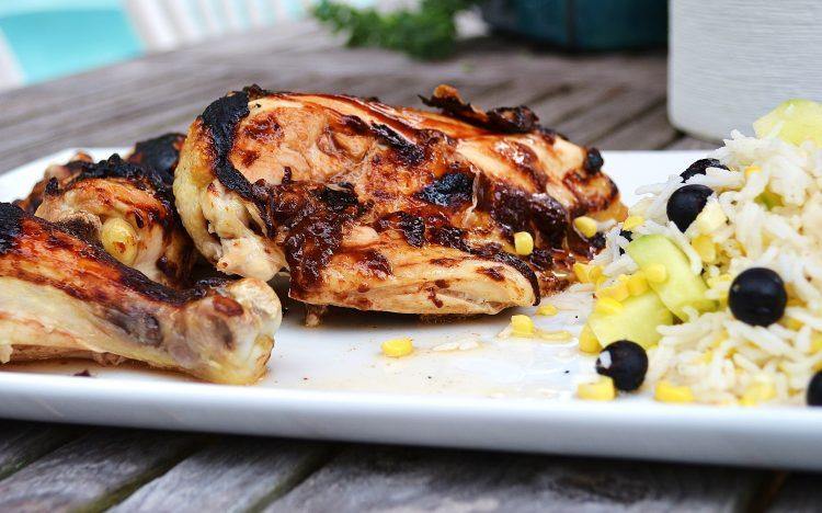 Oven-BBQ'd Chicken