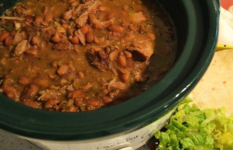 Slow Cooker Pork Chalupa Bowl