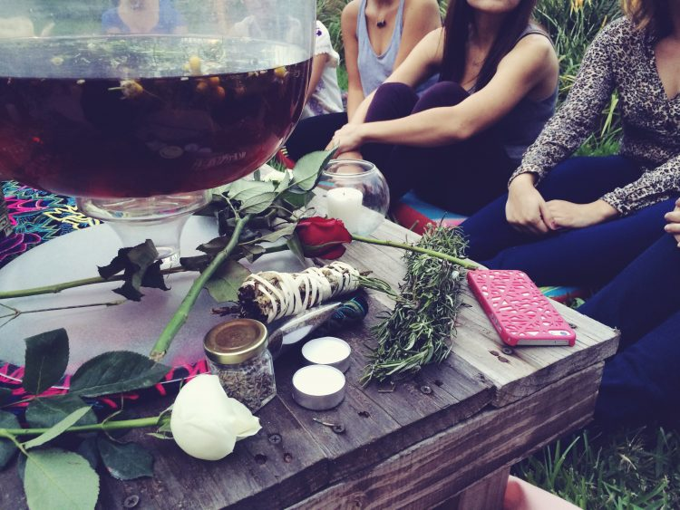 NEW MOON! NEW YOU! And Food to Feed Your Heart and Soul. An Intention Setting and Manifestation Night Under the Stars