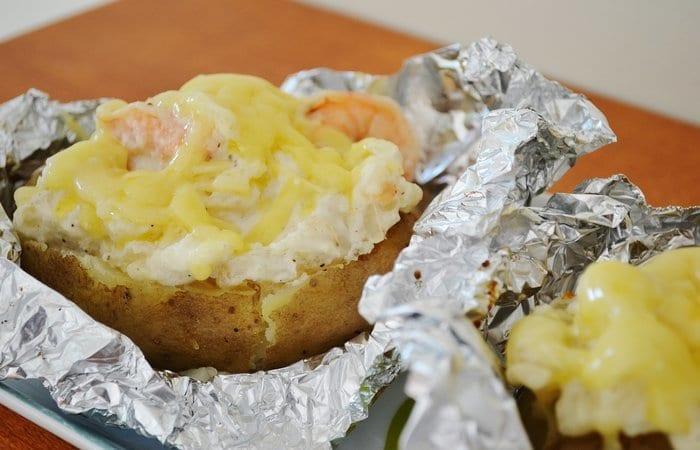 Seafood Potatoes