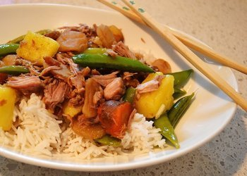 Slow Cooker Pineapple-Ginger Pork